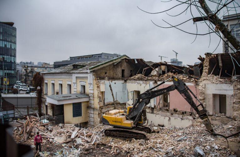 В Киеве сносят старинное здание