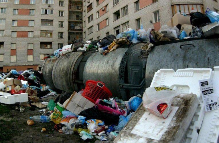 Киевлян будут штрафовать за мусор