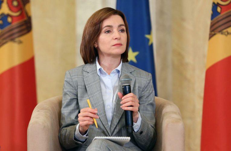 Президент Молдовы  высказалась за углубление связей Молдовы с Украиной и Румынией
