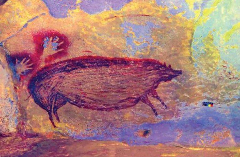 Найдена самая старая в мире наскальная живопись