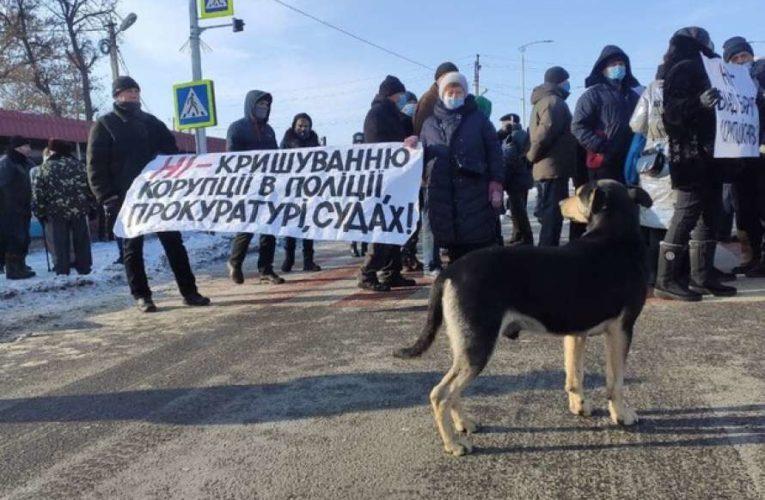 В Украине продолжаются митинги с перекрытием дорог, несмотря на новый тариф на газ
