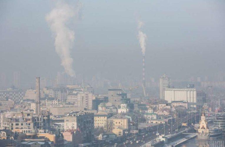 Стала известна причина высокого уровня загрязнения воздуха в Киеве