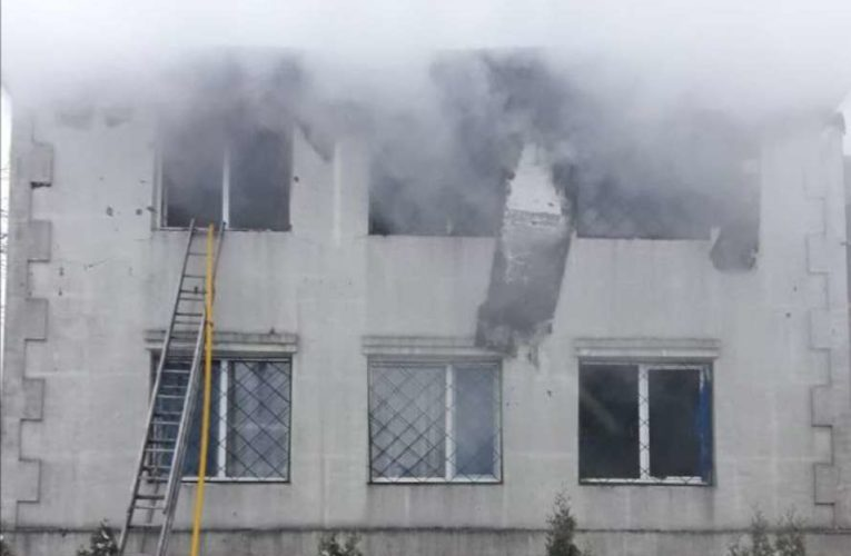 В Харькове произошел пожар в доме престарелых, почти половина людей погибли