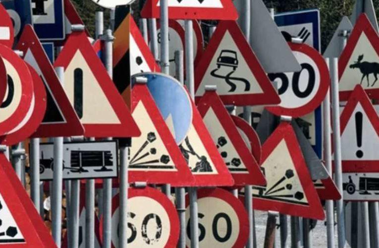 На дорогах Киева появились новые дорожные знаки (Фото)