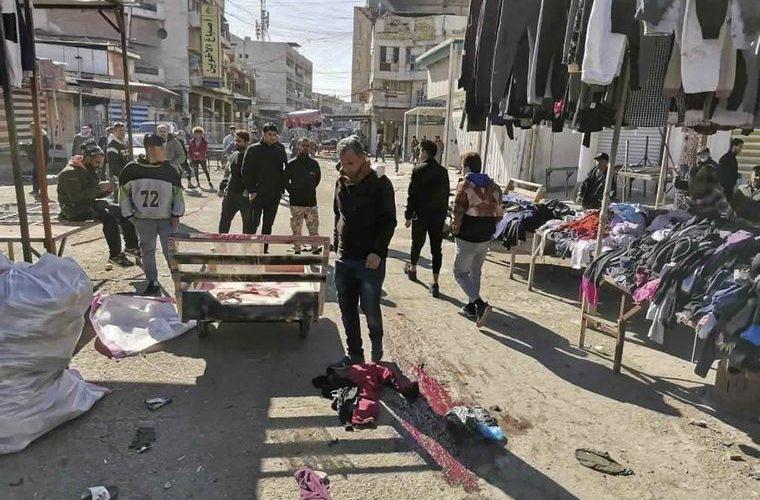 В Багдаде смертники устроили двойной теракт. Много погибших