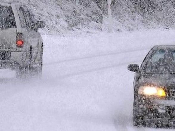 В Украину идут сильные снегопады