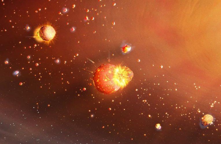 Ученые представили новую модель двухэтапного формирования планет Солнечной системы