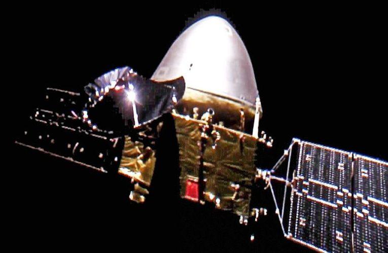 Китайский зонд «Тяньвэнь-1» прислал первый снимок Марса