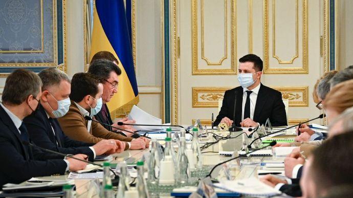 Зеленский снова созывает заседание СНБО