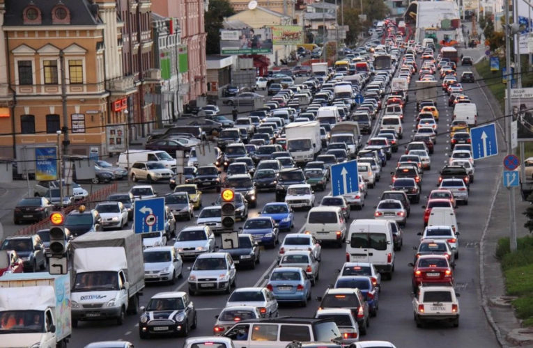 12-й в мире: есть ли шанс у Киева вырулить из пробок