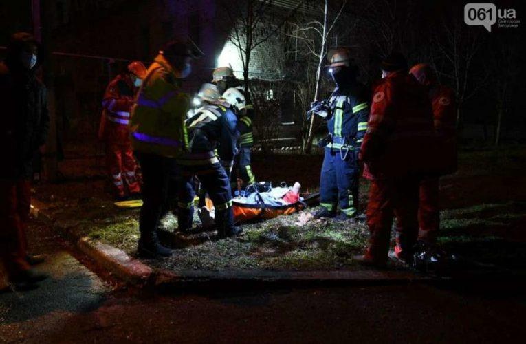 Пожар в инфекционной больнице Запорожья: есть погибшие, названы причины