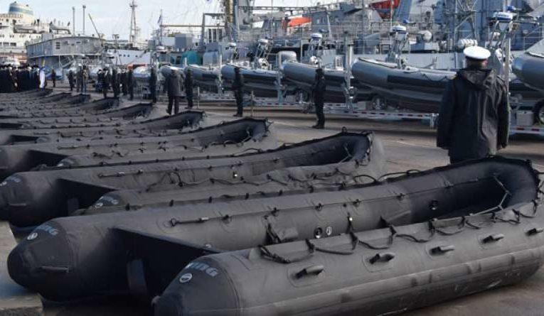 США передали украинским ВМС более 80 лодок