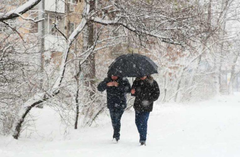 На Украину идут 30-градусные морозы