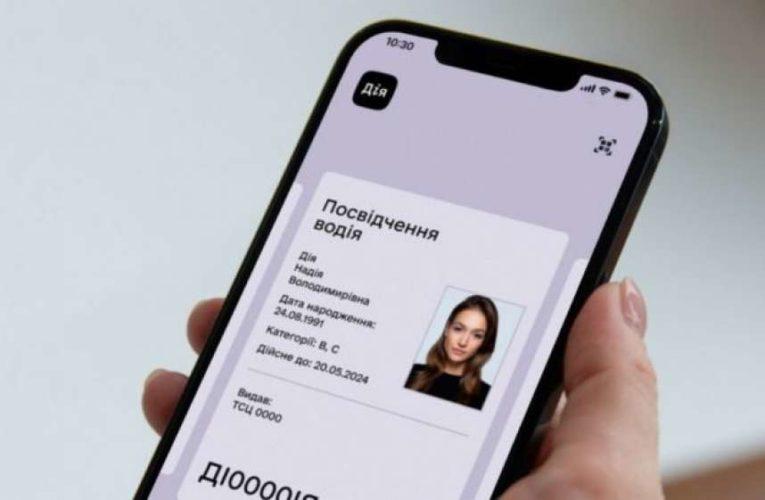 Цифровые водительские права прировняли к бумажным