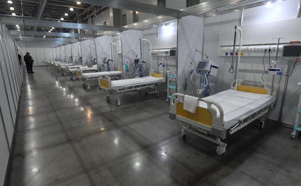 В Украине развернут первый мобильный COVID-госпиталь