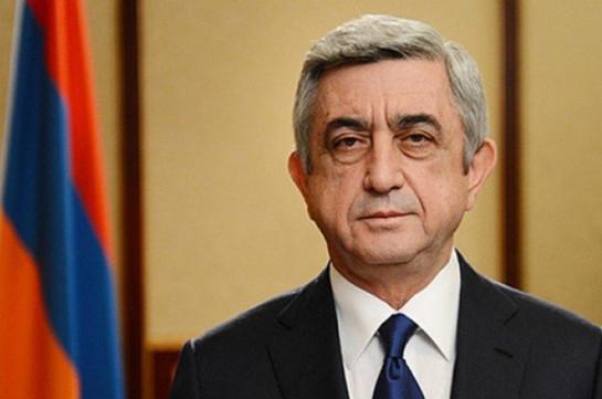 Саргсян назвал причину неудачи Армении в Нагорном Карабахе