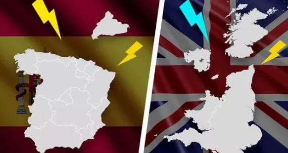Каталония вновь попробует отделиться от Испании, а Шотландия — от Великобритании