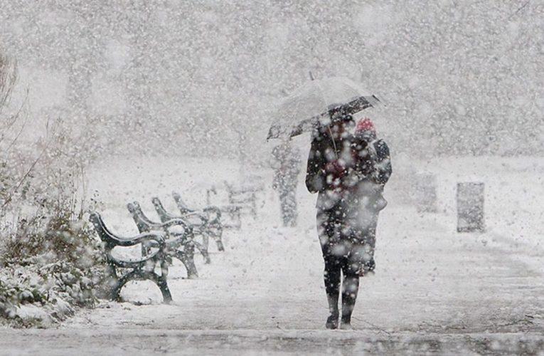 Циклон принесет в Украину мокрый снег и ледяной дождь