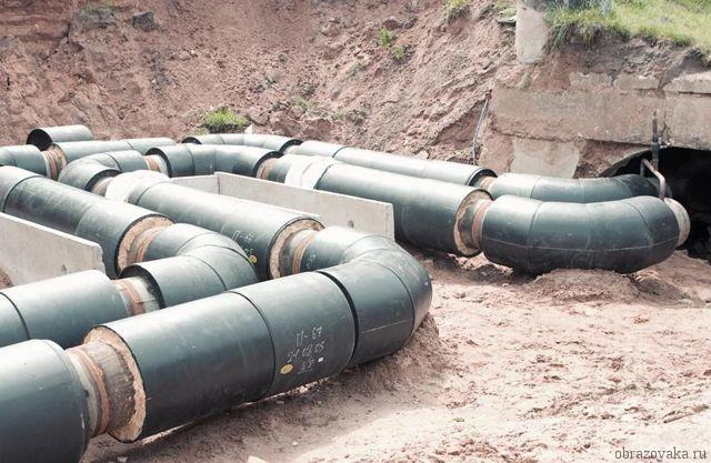 На магистральном водопроводе в Черновцах произошла авария