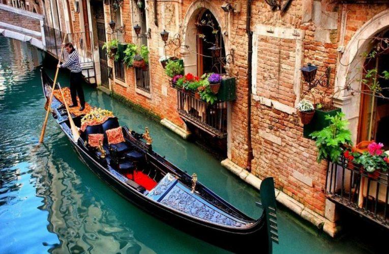 В Венеции началась засуха (Фото)