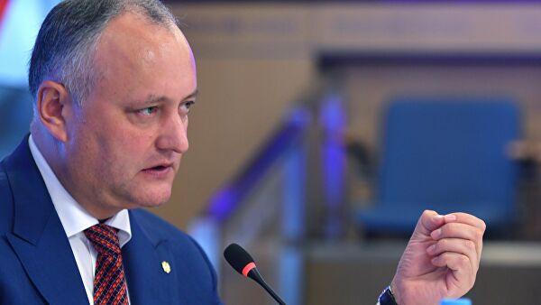 Экс-президент Молдавии заявил о призывах к майдану в стране