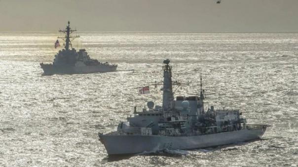 США уведомили Турцию о проходе двух своих военных кораблей через Босфор в Черное море