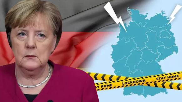 Жесткий локдаун ударил по доверию к Меркель