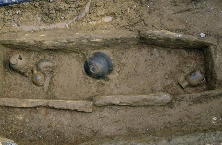 На острове Лесбос найдены древние развалины мраморного дворца