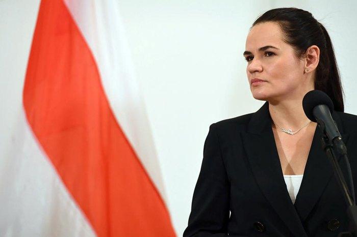 Тихановская призвала поддержать протестующих в Белоруссии после выдвинутых ее мужу обвинений