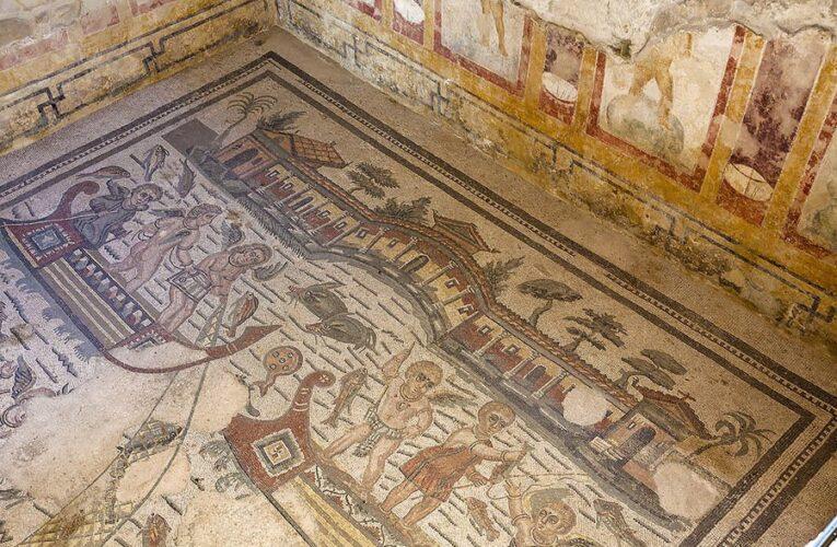 На юге Испании найдена роскошная древнеримская вилла с огромной мозаикой