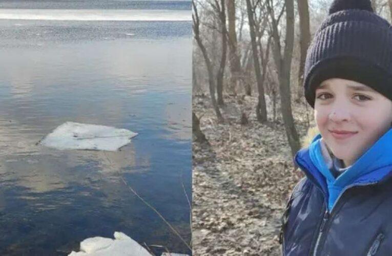Мужчина спас ребенка на льду с помощью спиннинга