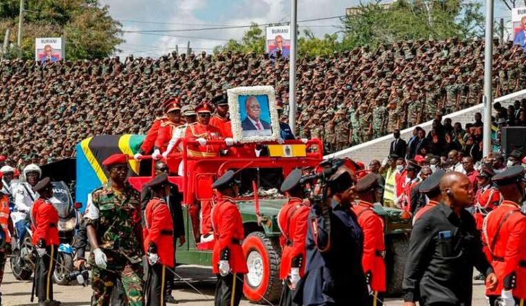 Почти 50 человек погибли в давке на прощании с умершим президентом Танзании