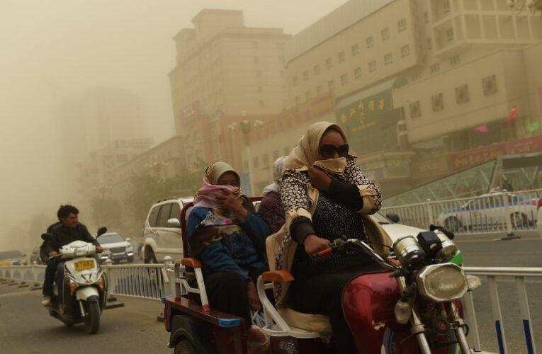 Песчаная буря из Китая накрыла Южную Корею и Японию