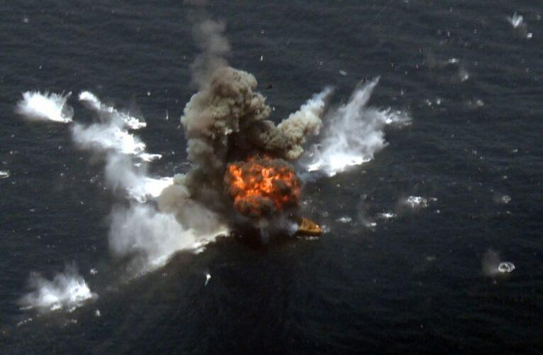 Иран нанес ракетный удар по израильскому судну