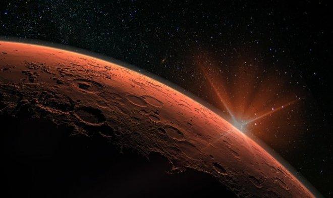 NASA показало покрытые инеем марсианские дюны