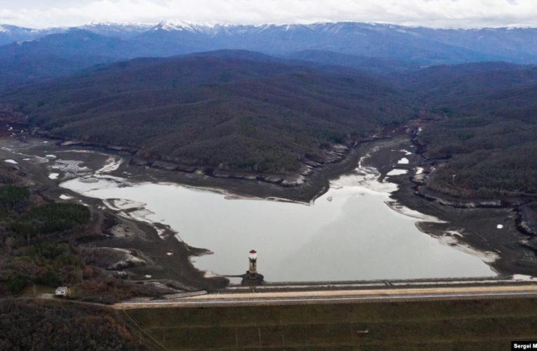 В Крыму полностью истощены два водохранилища