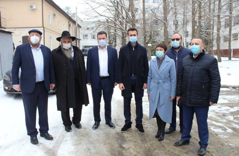 В Умани при поддержке еврейской общины состоялось открытие новой ПЦР-лаборатории