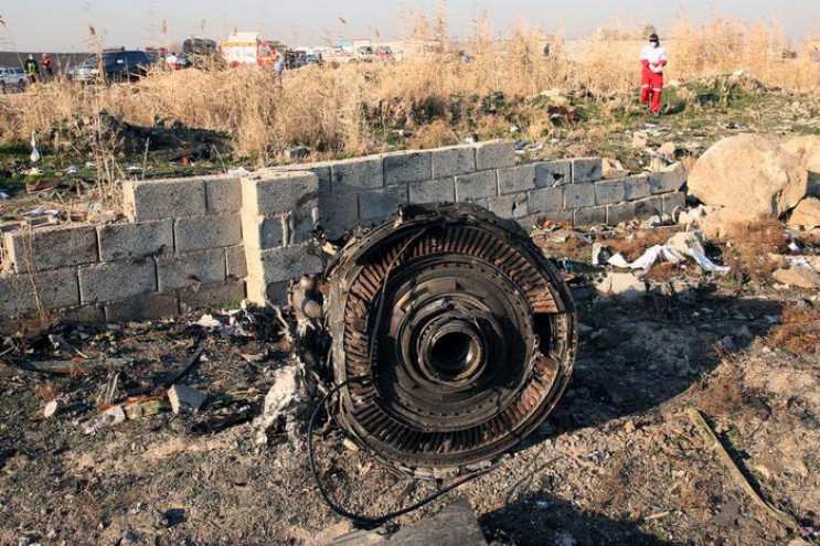 Украина подала замечания к отчету Ирана о катастрофе самолета МАУ
