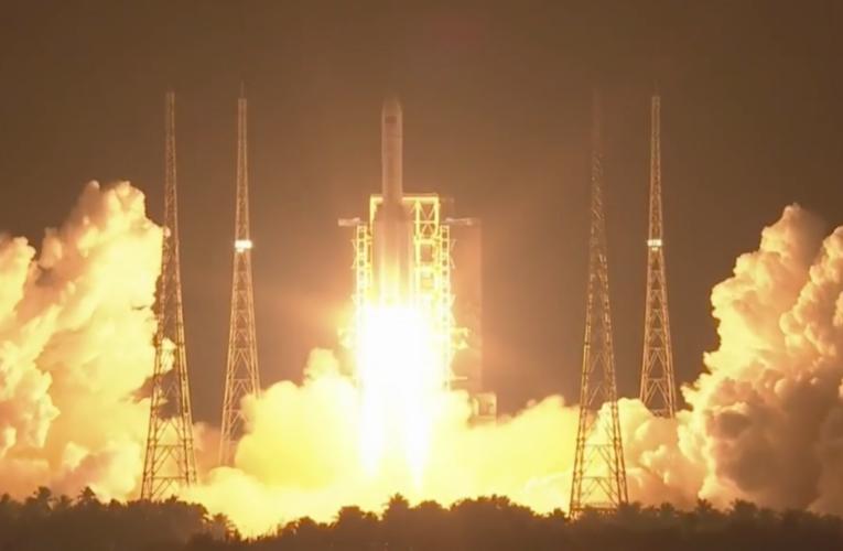 Китай запустил основной модуль национальной орбитальной станции