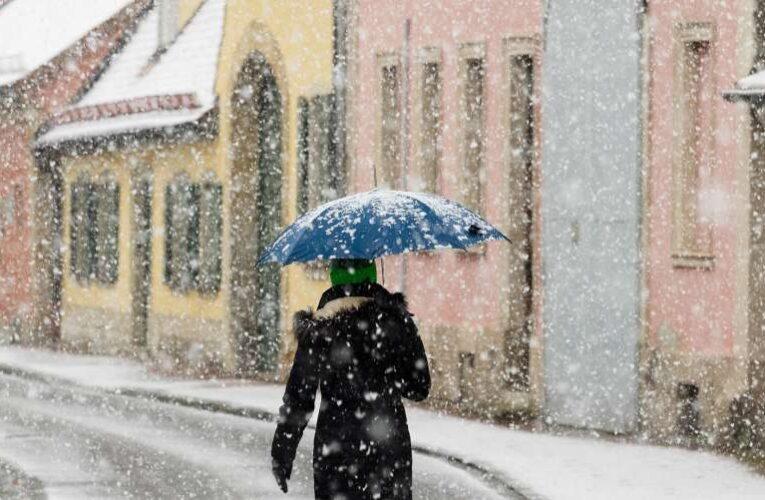 В Украину снова идет похолодание и мокрый снег