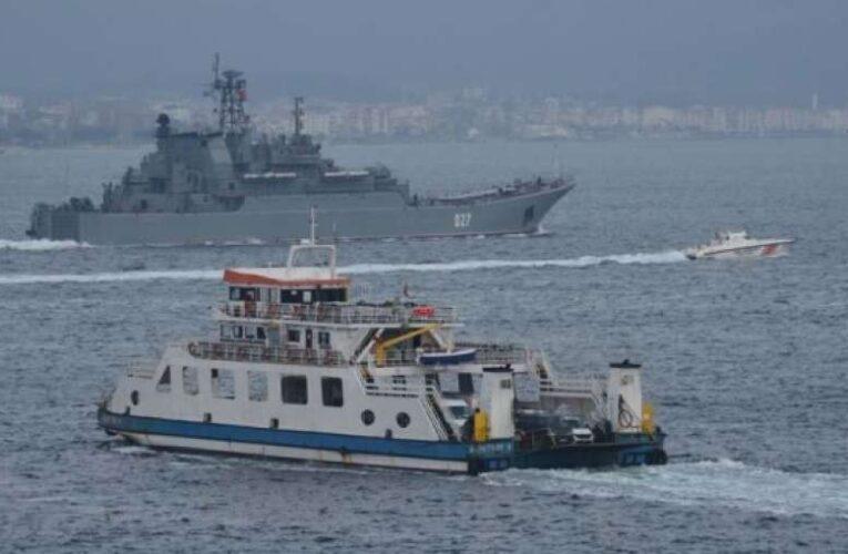 Военные корабли России идут в Черное море