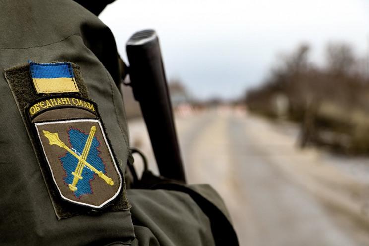 На Донбассе зафиксировано 15 нарушений режима тишины, ранен боец ВСУ