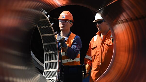 Германия запустила сухопутный газопровод для подключения «Северного потока — 2»