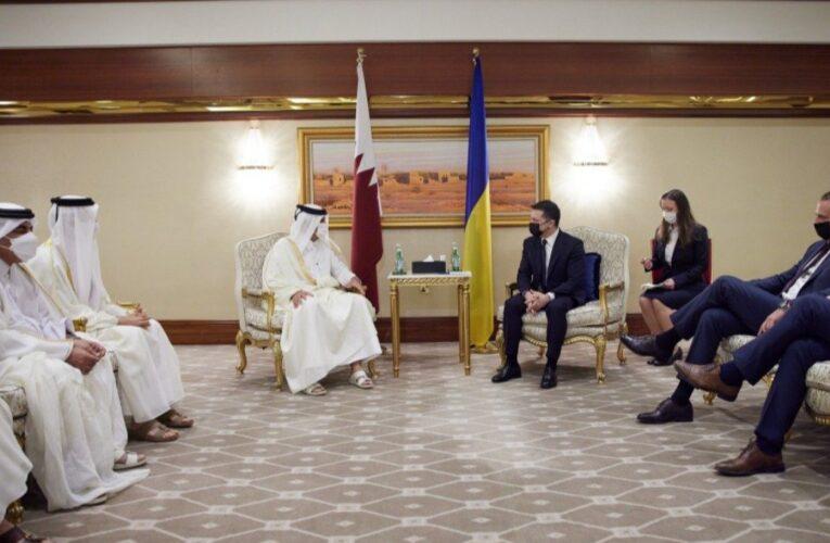 Украина и Катар подписали 13 двусторонних документов