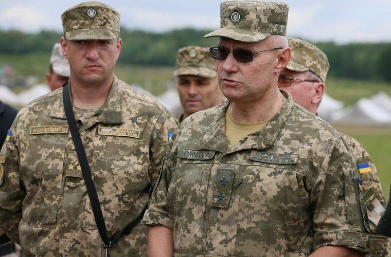 Хомчак сообщил, сколько российских военных сосредоточено у границ Украины