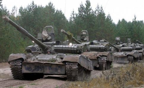 На оккупированном Донбассе обнаружено 17 российских танков