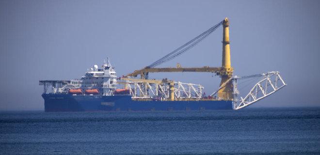 В территориальных водах Германии продолжается строительство газопровода «Северный поток-2»