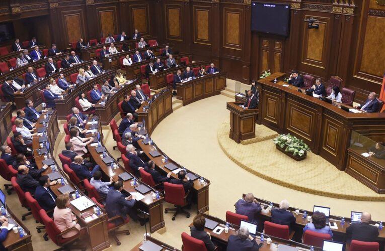 Парламент Армении распустят