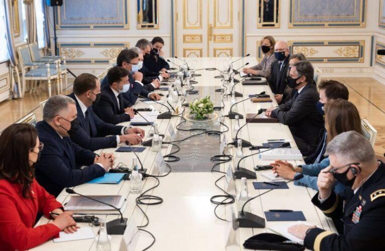 Зеленский обсудил с госсекретарем США Донбасс и «Северный поток — 2»