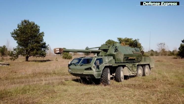 ВСУ испытали чешскую самоходную гаубицу